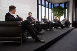 HSCPA auf dem Podium mit Microsoft, IBM, Plattform Industrie 4.0 und dem Fraunhofer IPT