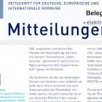 """Leitartikel von HSCPA zu """"Datenschutz & Data-Driven-Innovation"""" im DIN-Magazin"""