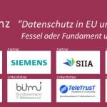 """KITS-Konferenz """"Datenschutz in EU und Deutschland"""" mit IBM, SIEMENS, SIIA"""